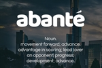 abante-meaning